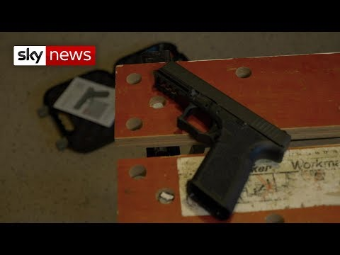 US 'ghost guns' falling into criminal hands