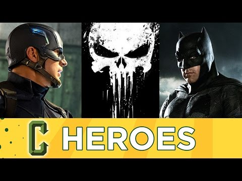 Collider Heroes - Civil War Opens Soon, Batman Villains, Punisher TV Series
