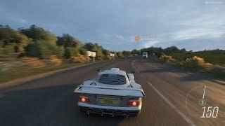 Forza Horizon 4 - 1998 Mercedes-Benz AMG CLK GTR Gameplay [4K]