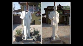 В Анапе памятнику Ленину оторвали голову, похитили, а потом вернули её обратно