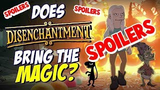 Is Disenchantment as Good as The Simpsons or Futurama? *SPOILERS* | Nerdflix + Chill Review