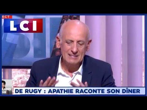 """Affaire de Rugy : Jean-Michel Aphatie regrette : """"Même avec des chips, je n'aurais pas dû y être"""""""