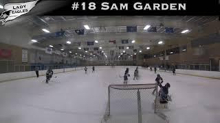 2018-2019 #18 Sam Garden GY 2022 Carolina Lady Eagle Highlights