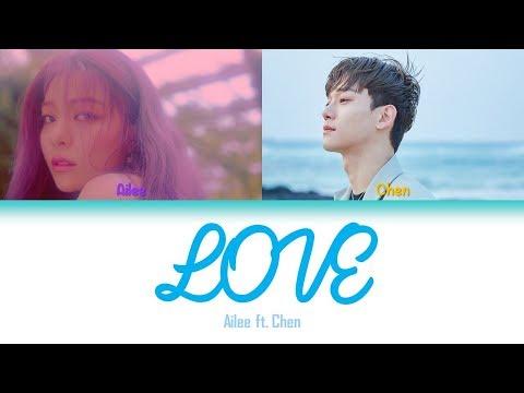 LOVE | Ailee (에일리) Ft. Chen (of EXO) Lyrics [HAN+ROM+ENG]