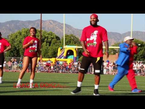 Matt Barnes & Snoop Dogg 4th Annual 2017 Athletes V Cancer Flag Football Game