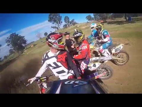 Dont ever challenge Ricky Carmichael