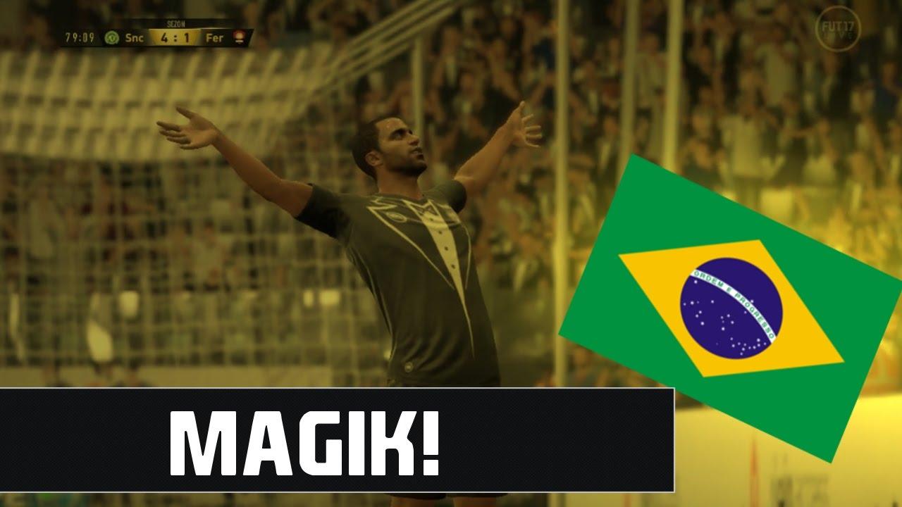 BRAZYLIJSKI MAGIK! | FIFA ULTIMATE TEAM - YouTube