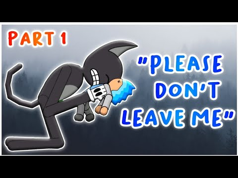 Cartoon Cat Take Care of A Kid Part 1  Trevor Henderson Animations | Draw Cartoon 2