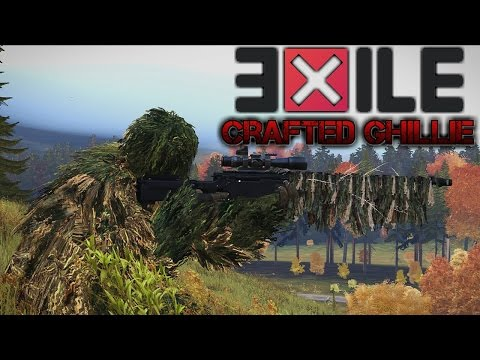 ARMA 3: Exile DayZ Recreation -Crafted Ghillie - EP.2