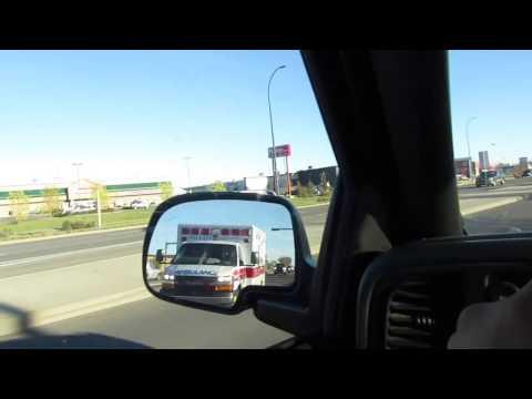 Lethbridge AB Ambulances responding X2