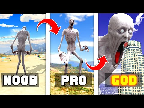 How To UPGRADE SCP-096 Into A GOD In GTA 5 ... (Secret Powers!) - GTA 5 Mods Funny Gameplay