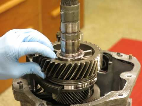 Borg Warner T56 Transmission Disassembly