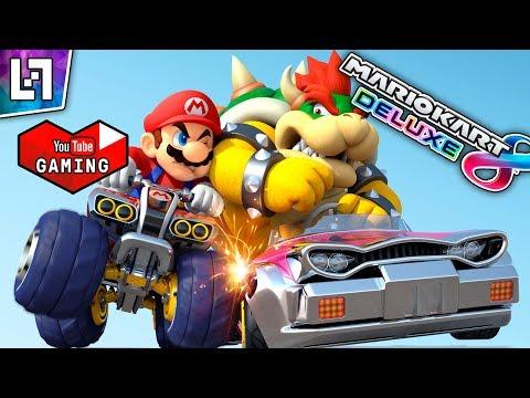 Online kaahailua :D - [Mario Kart 8 Deluxe]          (Friend Code kuvauksessa!)