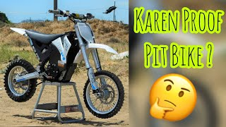 Electric 65 Dirt Bike Conversion is Nearly Karen Proof!? Pit Bike Shenanigans