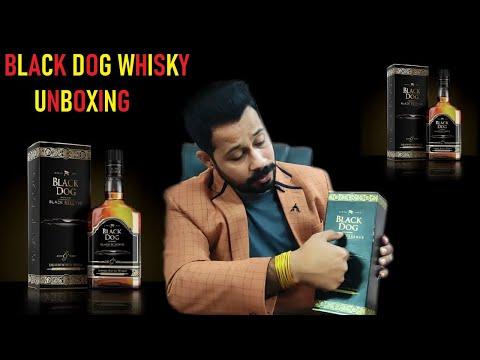 Black Dog Whisky Reviews Unboxing Black Reserve | Blended Black Dog