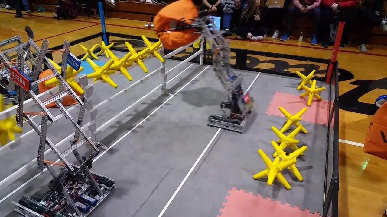 Vex Robotics Starstruck Sweeping The Field Youtube