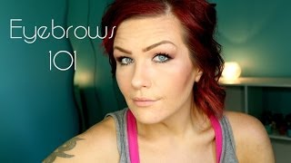 Eyebrows 101 (How to fill your brows when you have none!)