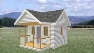 Download 8 X 10 Playhouse Plans From Www.ezplayhouse.com