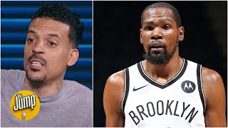 Matt Barnes eases fears on Kevin Durant's latest injury: It's just day-to-day | The Jump