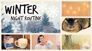 My Winter Night Routine 2015! Thumbnail
