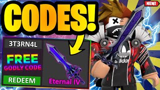 *9 CODES* ALL NEW MURDER MYSTERY 2 CODES SEPTEMBER 2021 | ROBLOX MM2 CODES 2021 *UPDATED*