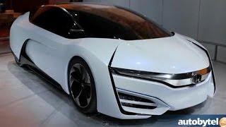 Honda FCEV Concept 2013 Videos