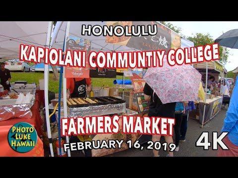 Kapiolani Community College Farmers Market 2/16/2019