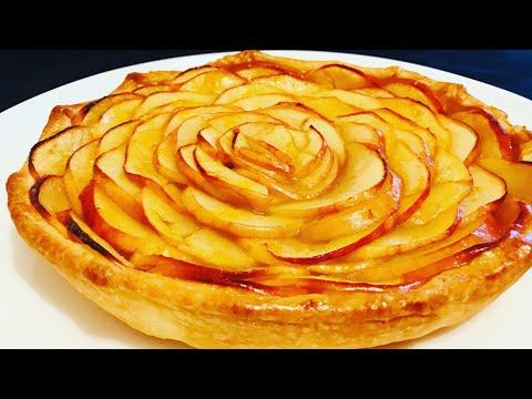 tarte-aux-pommes---recette-rapide