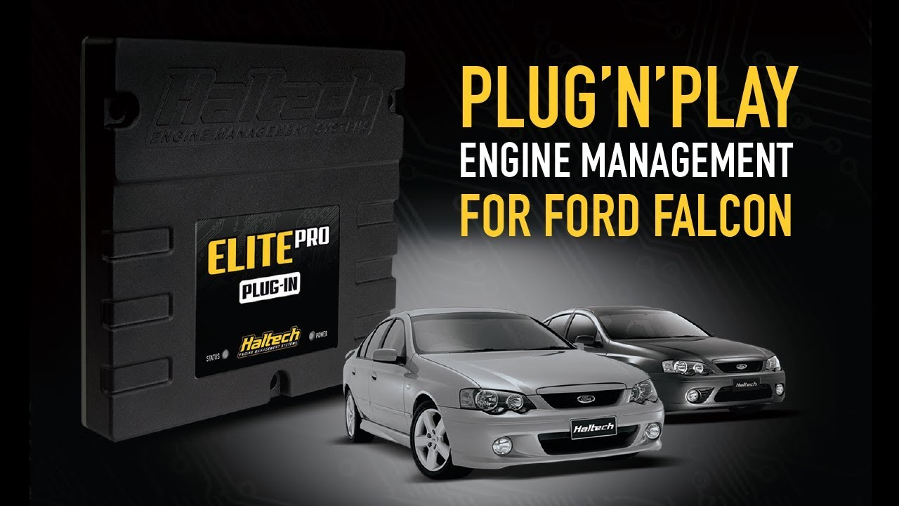 Plug'n'Play ECU for Ford Falcon