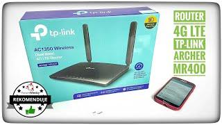 Router 4G LTE TP-LINK AC1350 Archer MR400 recenzja konfiguracja