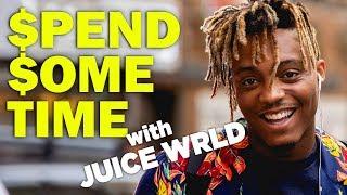 Juice Wrld Drops Racks on Supreme - Spend Some Time
