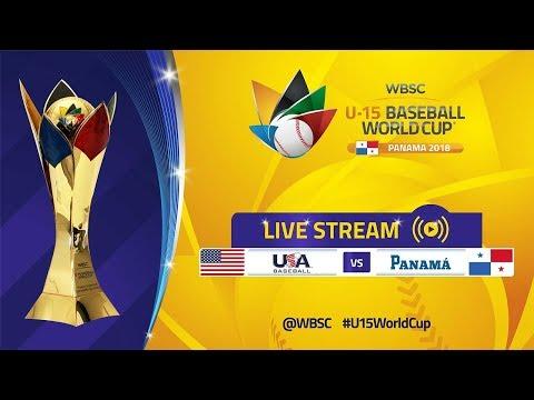 USA v Panama - U-15 Baseball World Cup 2018