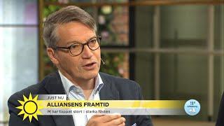 """Göran Hägglund om alliansens framtid: """"Kommer ha betydande problem under period - Nyhetsmorgon (TV4)"""