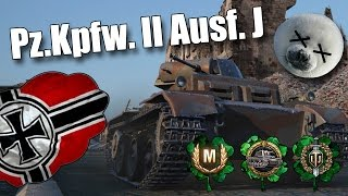 WoT || Pz.Kpfw. II Ausf. J || King Seal Club