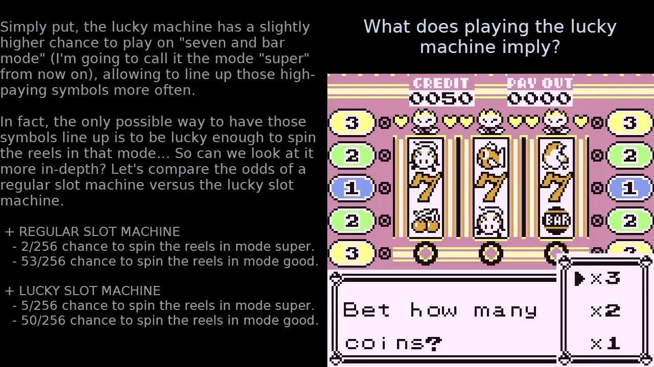 Pokemon Crystal Slot Machine