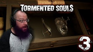 CRAZY TORTURE DEVICES! | Tormented Souls Horror Game with Oshikorosu [3]