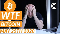 Bitcoin down 5% - Current Bitcoin Price [May 25th 2020]