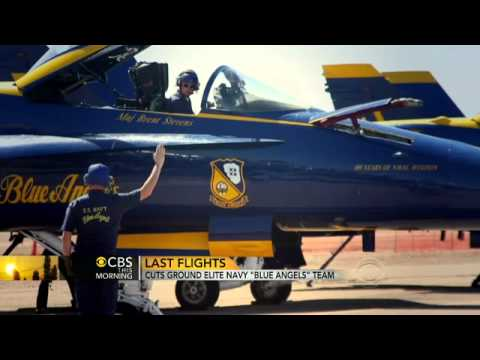 Sequester cuts ground Navy Blue Angels team