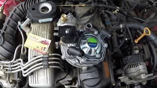 установка ГБО на Audi 100, 2.0L, KE-Jetronic, евро 2