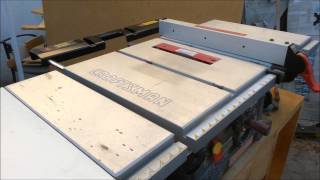 Table Saw Station (part 3) Making Drawers