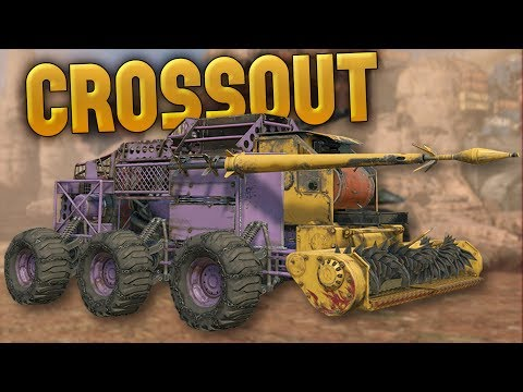 Crossout - Melee Vehicle Builds! - Chameleon Stealth Melee Buggy - Crossout Gameplay Highlights