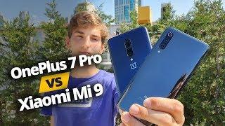 OnePlus 7 Pro vs Xiaomi Mi 9 - Gerçek Amiral Gemisi Katili Hangisi?