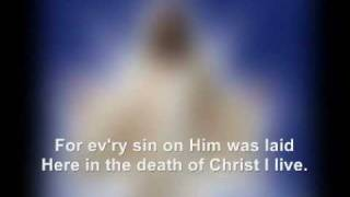 In Christ Alone  The Solid Rock. w/ lyrics Travis Cottrell