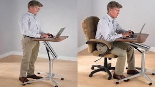 Sit To Stand Workstation - Height Adjustable Sitting/standing Desk