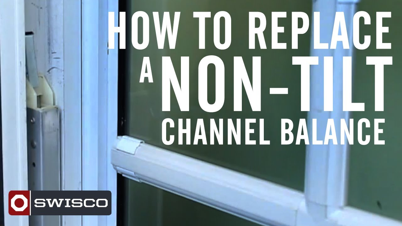 How To Replace A Window Sash Channel Balance Swisco Com