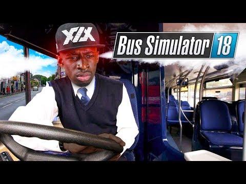 WORLD'S ANGRIEST BUS DRIVER!!! TBJZLPlays BUS SIMULATOR 2018 |