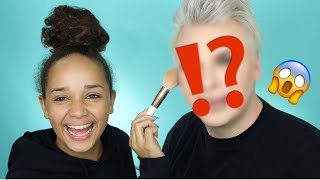 14 YEAR OLD DOES MY MAKEUP! | Michael Finch