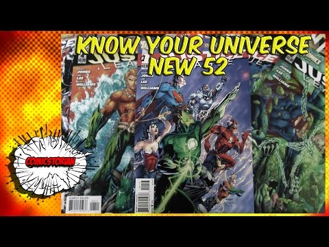 What Is the New 52 - Know Your Universe