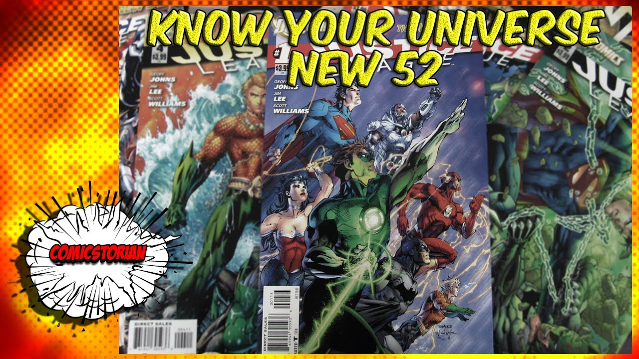 What Is The New 52  Know Your Universe  Comicstorian  Youtube