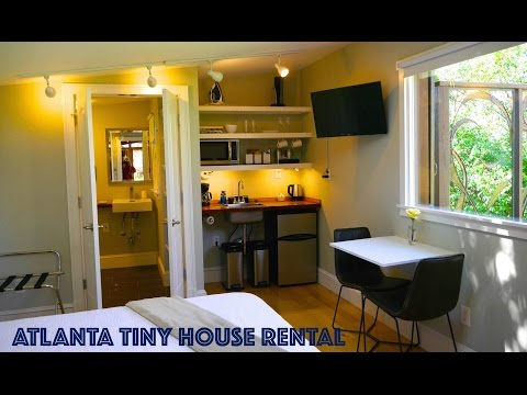 Tiny Urban Cottage in Atlanta- You can RENT this Tiny House!